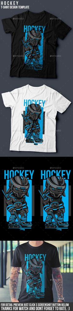Hockey TShirt Design — Vector EPS #clothingline #awesome • Download ➝ https://graphicriver.net/item/hockey-tshirt-design/19363608?ref=pxcr
