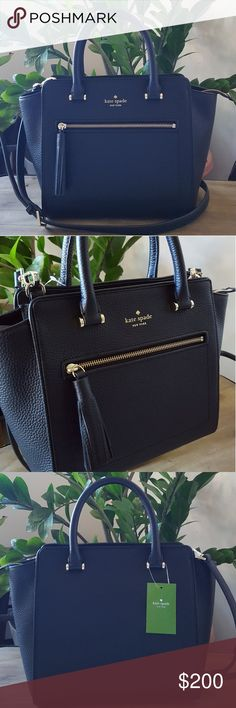 Kate Spade Crossbody Black Satchel Brand New with Tags  ❌PRICE FIRM❌ ❌NO TRAD❌ kate spade Bags Satchels