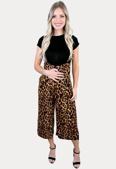Leopard Maternity Coveralls - Sexy Mama Maternity Basic Tops, Best Mom, Wardrobes, Overalls, Curves, Pregnancy, Jumpsuit, Maternity Outfits, Fancy