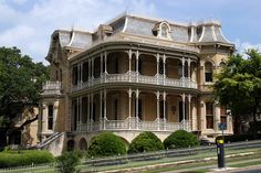 John Bremond House, ca 1886, Austin, Texas. French Second Empire style.