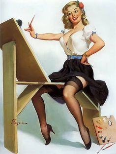 Chicas pin-up