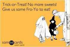 Give us some #froyo to eat! We'd take some @Orange Leaf Frozen Yogurt froyo for sure!