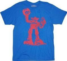 Ames Bros Destroyer Vintage Blue Adult T-shirt