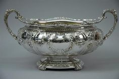 Gorham Sterling Soup Tureen.  Beautiful.