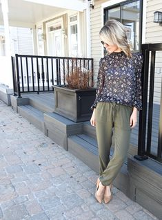 SHEER FLORAL BLOUSE ⋆ Tiaras and Heels
