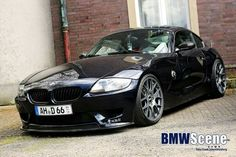 BMW E85 Z4 Coupe black
