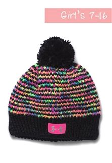 Under Armour Speckle Beanie for Girls in Black