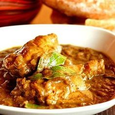 Try this Sri Lankan chicken curry recipe by Chef Joe Tomasello. Sri Lankan Chicken Curry Recipe, Indian Food Recipes, Asian Recipes, Sri Lankan Recipes, Curry Dishes, Best Dishes, Indian Dishes, Curry Recipes, Chutney