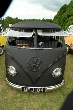 sleek vw bus