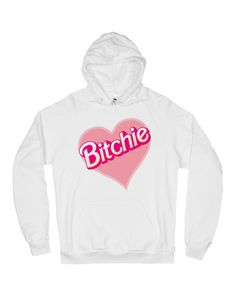 BITCHIE HOODIE <3 feelin a lil bitchie ab valentine's day <3 shop the vday section at SHOPJEEN.com