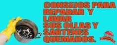 TRUCOS PARA LIMPIAR OLLAS Y SARTENES QUEMADOS. | CONSEJOS DE LIMPIEZA, TRUCOS, TIPS Y REMEDIOS DEL HOGAR