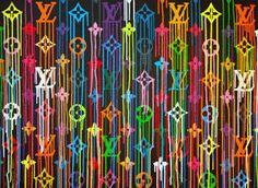Liquidated Louis Vuitton detail by Zevs 2010 Wallpaper Rainbow, Iphone Background Wallpaper, Louis Vuitton Background, Louis Vuitton Iphone Wallpaper, Apple Watch Wallpaper, Marken Logo, Nyc Art, Fashion Wallpaper, Pin Logo