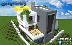Modern] easy living home (at WOK) Minecraft Project