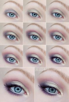 http://dressed-in-mint.blogspot.com/2014/01/make-up-vintage-romance-1-step-by-step.html