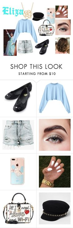 """""""Modern Eliza"""" by alex413king ❤ liked on Polyvore featuring Ksubi, Avon, Dolce&Gabbana, River Island, Lord & Taylor and modern"""