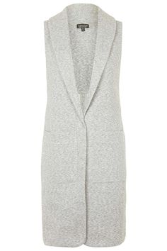 Photo 1 of Longline Sleeveless Pocket Blazer
