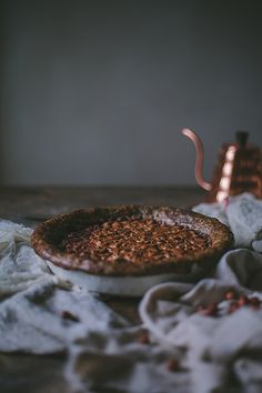 Hazelnut Chocolate Chess Pie With A Buckwheat Crust | Adventures in Cooking