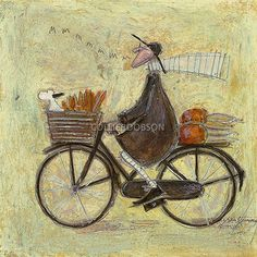 BACK FROM THE ALLOTMENT by Sam Toft