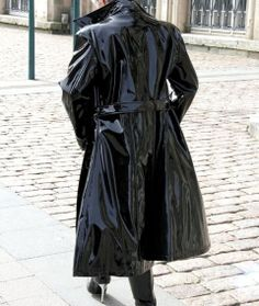 Shiny PVC Coat