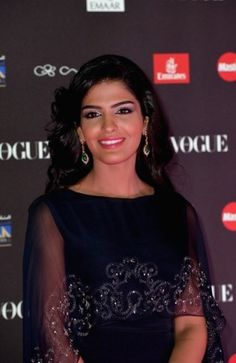 Princess Ameera attended a gala dinner for the Vogue Fashion Dubai Experience