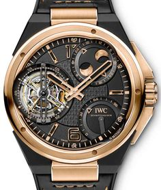 Highly Complicated IWC Ingenieur Watches In Red Gold