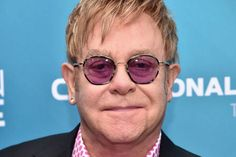 Elton John's mystery 'hero' saved star's life by recognising bacterial infection Elton John Sunglasses, Round Sunglasses, Mens Sunglasses, Access Hollywood, School Reunion, Bacterial Infection, Hairdresser, Celebrity News, Mystery