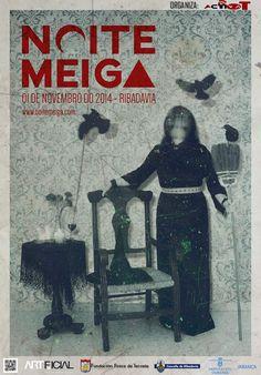 Noite Meiga en Ribadavia (Ourense) meigas Samaín Halloween magos aquelarre concertos queimada
