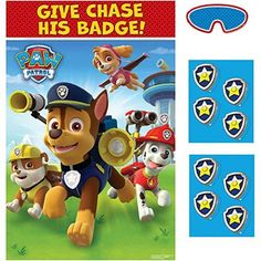Paw Patrol - Party Game