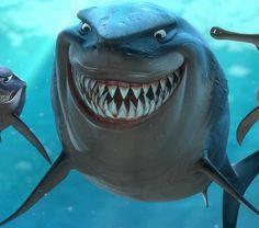Eric Bana, Barry Humphries, and Bruce Spence in Finding Nemo Disney Pixar, Disney Sidekicks, Disney Characters, Dreamworks Movies, Pixar Movies, Nemo Dori, Sharkboy And Lavagirl, Shark Tale, Sharks For Kids