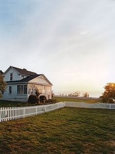 beautiful farm house