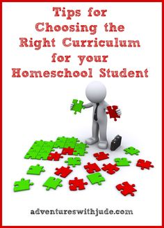 Adventures with Jude: Tips for Choosing the Right Curriculum for Your Student