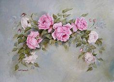 Мобильный LiveInternet Чашка чая, розы и нежность от  Gail McCormack | ВалюшаПП - ВалюшаПП |