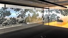 Sun Super office fitout. Environmental Graphics by Surfacegroup.com.au #Mirror finish #glazing graphics #etch glass film