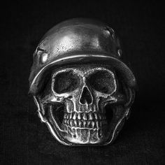 Fourspeed Metalwerks Skull Rings Collection Part Five on Behance