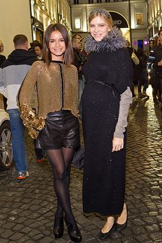 Miroslava Duma and Elena Perminova