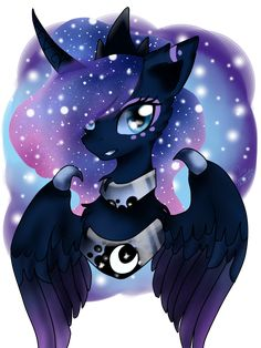 #1416293 - artist:lunardragonslay, bust, portrait, princess luna, safe, simple background, solo, transparent background - Derpibooru - My Little Pony: Friendship is Magic Imageboard