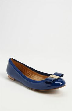 kate spade new york 'tock' flat available at #Nordstrom. If I can't get Ferragamos, I'll settled for these. :)
