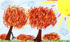 Wisteria Liberty, 11, Missoula, drew today's weather drawing in the Missoulian newspaper. Missoula, Montana.