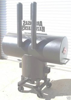 NEW Tailgate BBQ Pit Smoker and Charcoal Grill w/ STAND