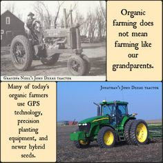 Organic Farming is Not Like Grandpa's Farming http://wp.me/p12kYI-la via @Carolyn Rafaelian Olson