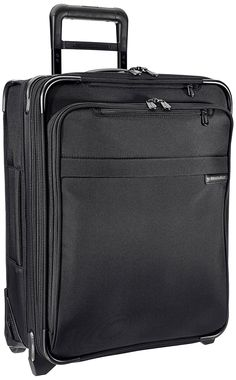 Briggs   Riley   Baseline Luggage Baseline International Carry-On Wide Body  Upright Suitcase, Black, Medium 5614655d6b