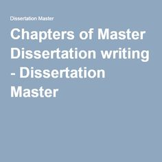 Professional Dissertation Writing From Master Writers