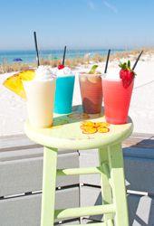 Mmm...beach drinks.