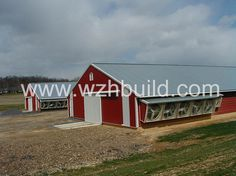 Hebei Weizhengheng Modular House Technology Co. Steel Buildings For Sale, Home Technology, Steel Structure, Farm House, Poultry, Shed, Industrial, Outdoor Structures, House Design