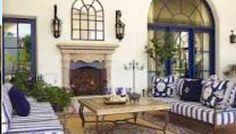 Nice patio. Imagine the house. Great California living Spanish style
