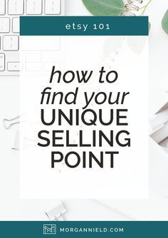 Unique Selling Proposition 101 - Stand Out In The Crowd — Morgan Nield Etsy Business, Craft Business, Creative Business, Online Business, Starting A Business, Business Planning, Business Tips, Business Goals, Personal Branding