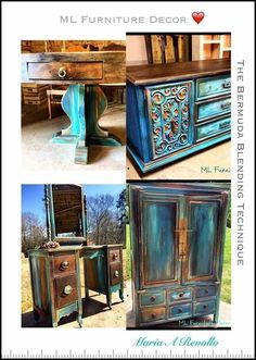 Join the amazing team and co-creators of Southern Blenders; M&B Furniture Decor (Maria) & Pixie Dust Paint Company (Sarina), for a LIVE. Chalk Paint Furniture, Furniture Projects, Furniture Makeover, Wood Projects, Furniture Painting Techniques, Paint Techniques, Chair Makeover, Repurposed Furniture, Rustic Furniture