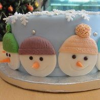 Cake by Holiday Cakes, Christmas Desserts, Christmas Time, Christmas Cakes, Cake Cookies, Cupcake Cakes, Cookie Decorating, Decorating Ideas, Cookie Desserts
