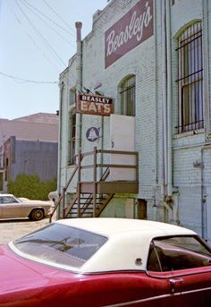 Petaluma, 1975. Now it's a sketch bar. Remember this back entrance, @Lily Morello Nasar?