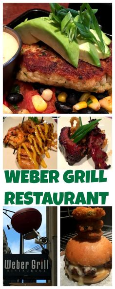 "The motto of Weber Grill Restaurants is: ""For grillers, by grillers."" So whether you order a salad or a steak, some item or part of the meal is prepared on the charcoal kettle grills."